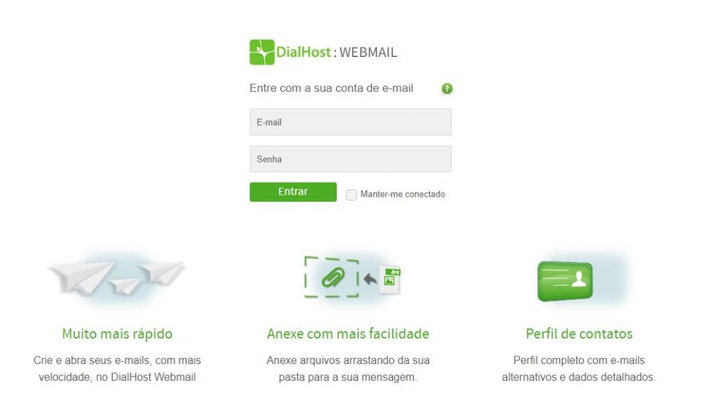 Webmail - DialHost Internet