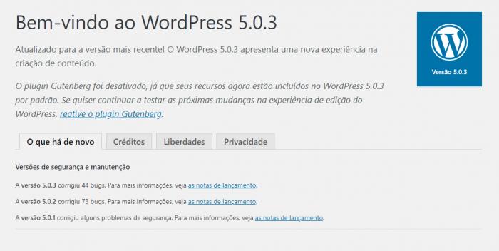 Wordpress - site seguro