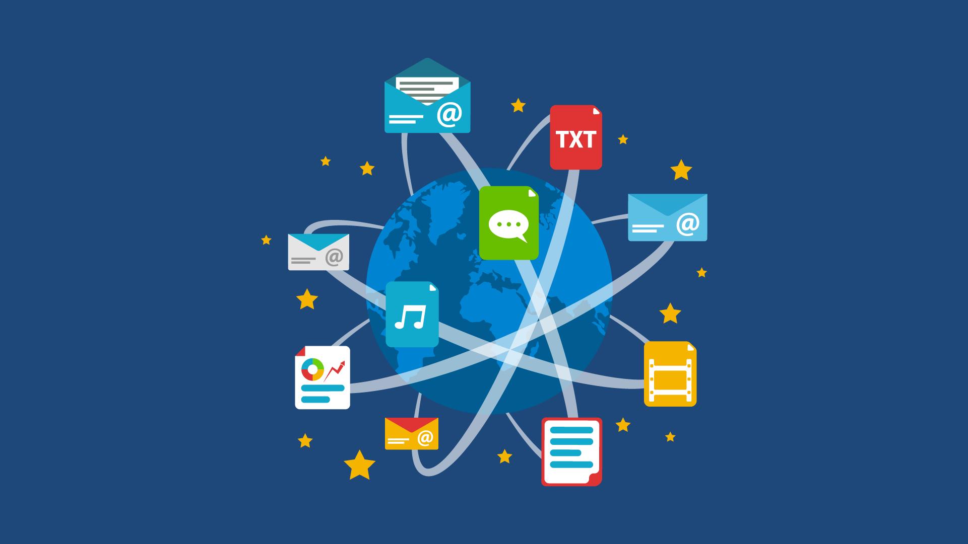 Dia da Internet - Globo com conexões e possibilidades