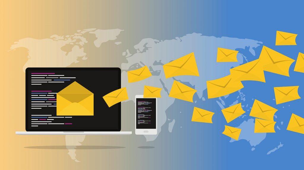 Hospedagem de sites - email