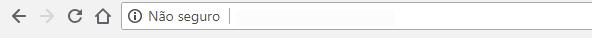 não seguro - google chrome